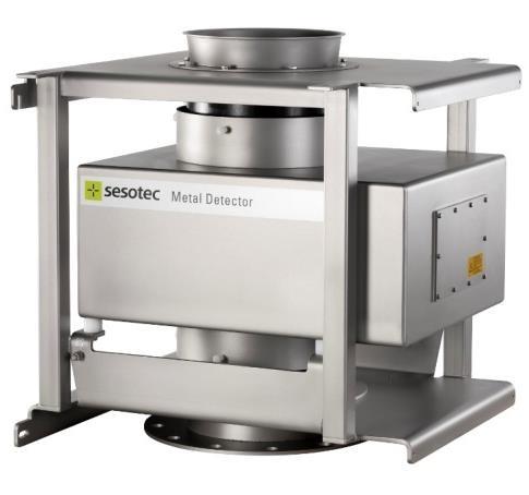 detection-unit-wykrywacz-metali-p-scan-rg-z-ramą-montażową-i-rurą-podawczą
